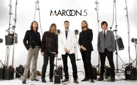 Papel de parede Maroon 5: Banda de Rock