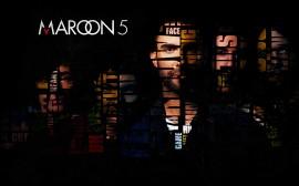 Papel de parede Maroon 5: Letras Legais