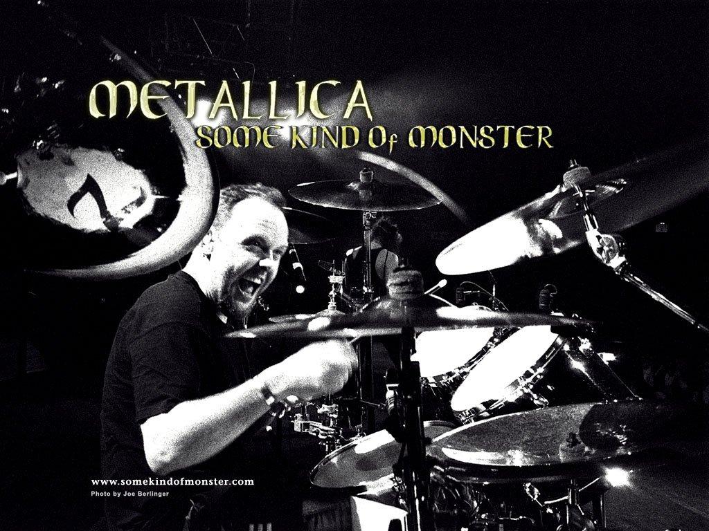 Papel de parede Metallica: Lars em Some Kind of Monster para download gratuito. Use no computador pc, mac, macbook, celular, smartphone, iPhone, onde quiser!