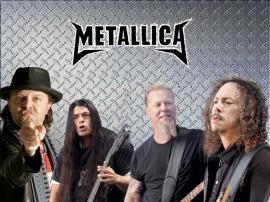 Papel de parede Metallica: Banda de Rock