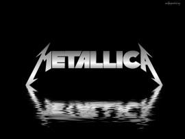 Papel de parede Metallica: Logotipo e Água