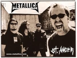 Papel de parede Metallica – St. Anger