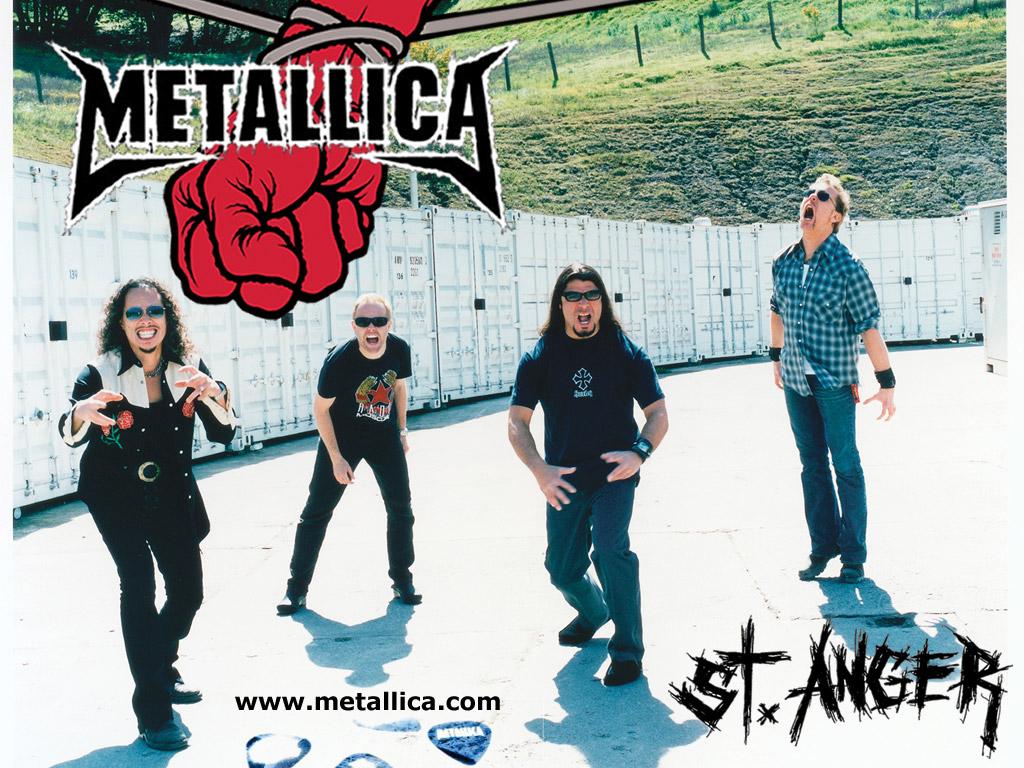 Papel de parede Metallica: A Banda em St. Anger para download gratuito. Use no computador pc, mac, macbook, celular, smartphone, iPhone, onde quiser!