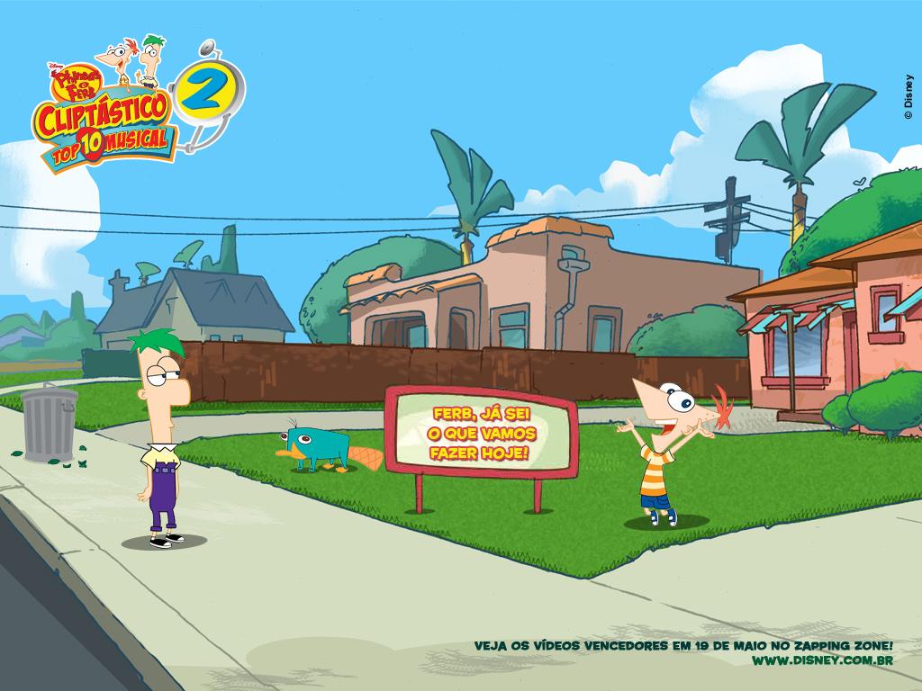 Papel de parede Phineas e Ferb – Para Rir para download gratuito. Use no computador pc, mac, macbook, celular, smartphone, iPhone, onde quiser!