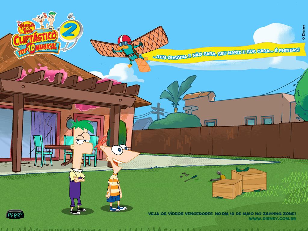 Papel de parede Phineas e Ferb – Sucesso para download gratuito. Use no computador pc, mac, macbook, celular, smartphone, iPhone, onde quiser!