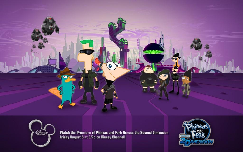 Papel de parede Phineas e Ferb – Super Legal para download gratuito. Use no computador pc, mac, macbook, celular, smartphone, iPhone, onde quiser!