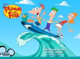 Papel de parede Phineas e Ferb – Humor