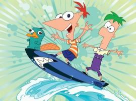 Papel de parede Phineas e Ferb – Diversão