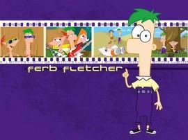 Papel de parede Phineas e Ferb – Ferb Fletcher