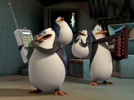 Papel de parede Pinguins de Madagascar – Planos