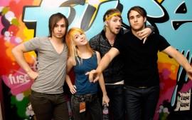 Papel de parede Paramore: Banda