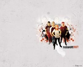 Papel de parede Paramore: Banda Famosa