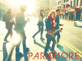 Papel de parede Paramore: Na Rua