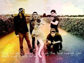 Papel de parede Paramore: Na Estrada