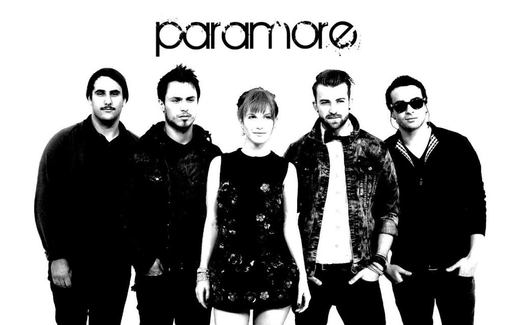 Papel de parede Paramore: Preto e Branco para download gratuito. Use no computador pc, mac, macbook, celular, smartphone, iPhone, onde quiser!