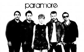 Papel de parede Paramore: Preto e Branco