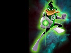 Papel de parede Patolino – Lanterna Verde