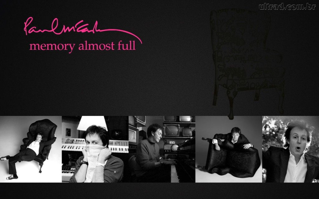 Papel de parede Paul McCartney – Memory Almost Full para download gratuito. Use no computador pc, mac, macbook, celular, smartphone, iPhone, onde quiser!