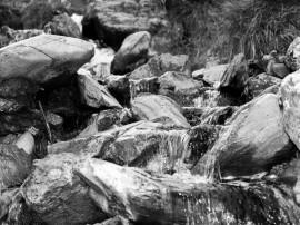 Papel de parede Pedras – Preto e Branco
