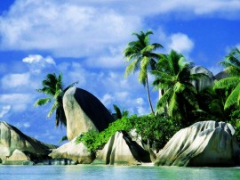 Papel de parede Pedras – Praia