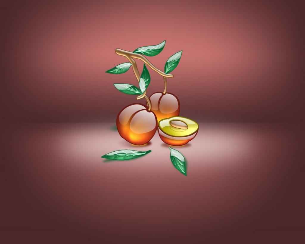 Papel de parede Desenho de Pêssego para download gratuito. Use no computador pc, mac, macbook, celular, smartphone, iPhone, onde quiser!
