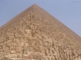 Papel de parede Pirâmide, Vista de Baixo