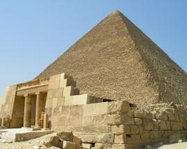 Papel de parede Pirâmide e Sua Entrada
