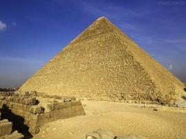 Papel de parede Pirâmide Alta