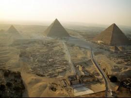 Papel de parede Pirâmides de Gizé