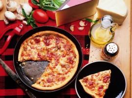 Papel de parede Pizza – Um pedaço para você