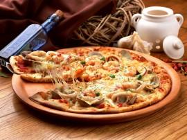 Papel de parede Pizza – De Qualidade