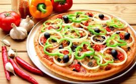 Papel de parede Pizza – Bem Recheada