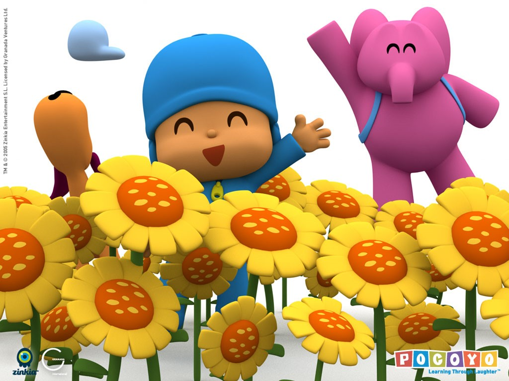 Papel de parede Pocoyo – Alegria para download gratuito. Use no computador pc, mac, macbook, celular, smartphone, iPhone, onde quiser!