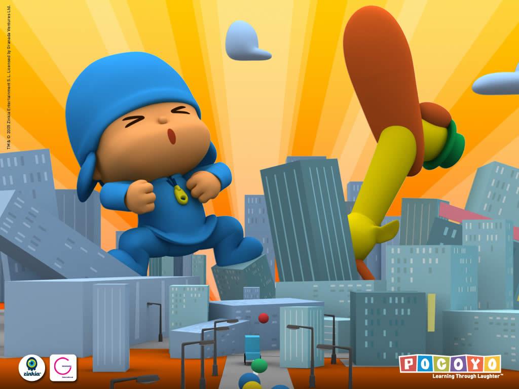 Papel de parede Pocoyo – King Pocoyo para download gratuito. Use no computador pc, mac, macbook, celular, smartphone, iPhone, onde quiser!