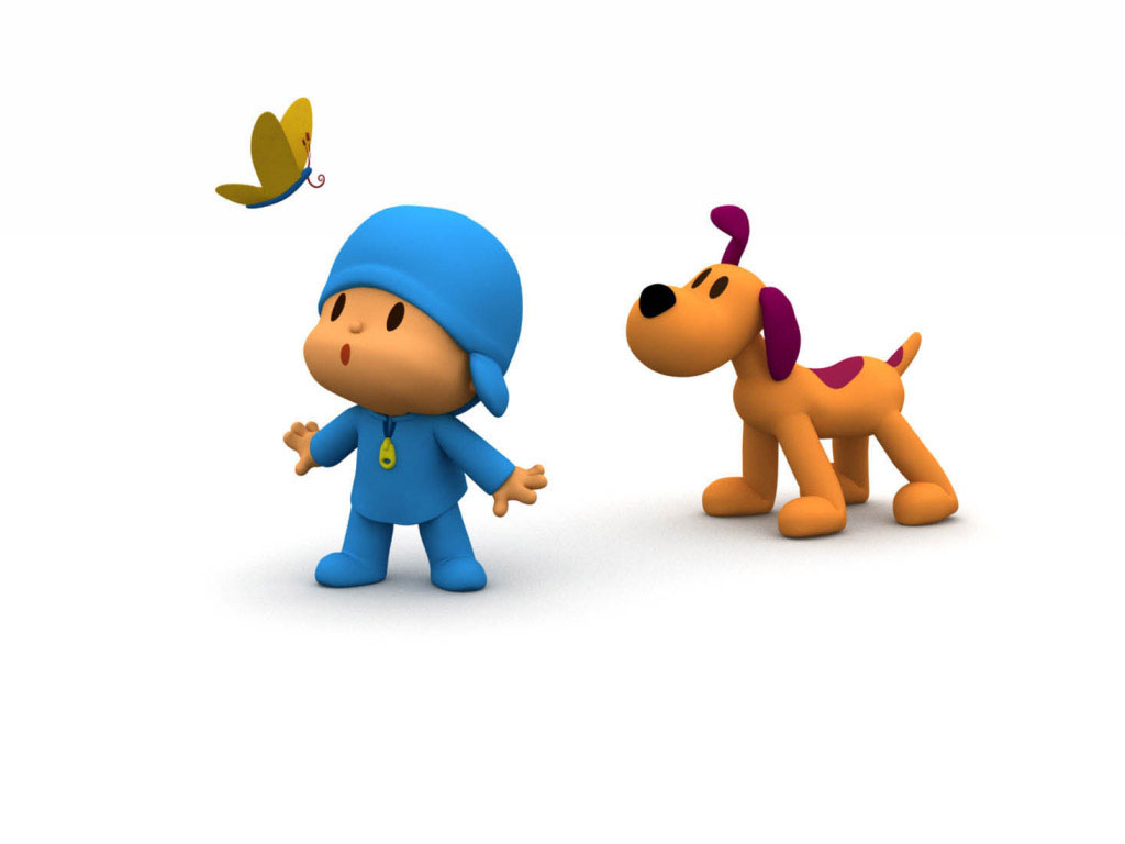 Papel de parede Pocoyo – Borboleta para download gratuito. Use no computador pc, mac, macbook, celular, smartphone, iPhone, onde quiser!