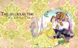 Papel de parede Princesas – Bela e a Fera