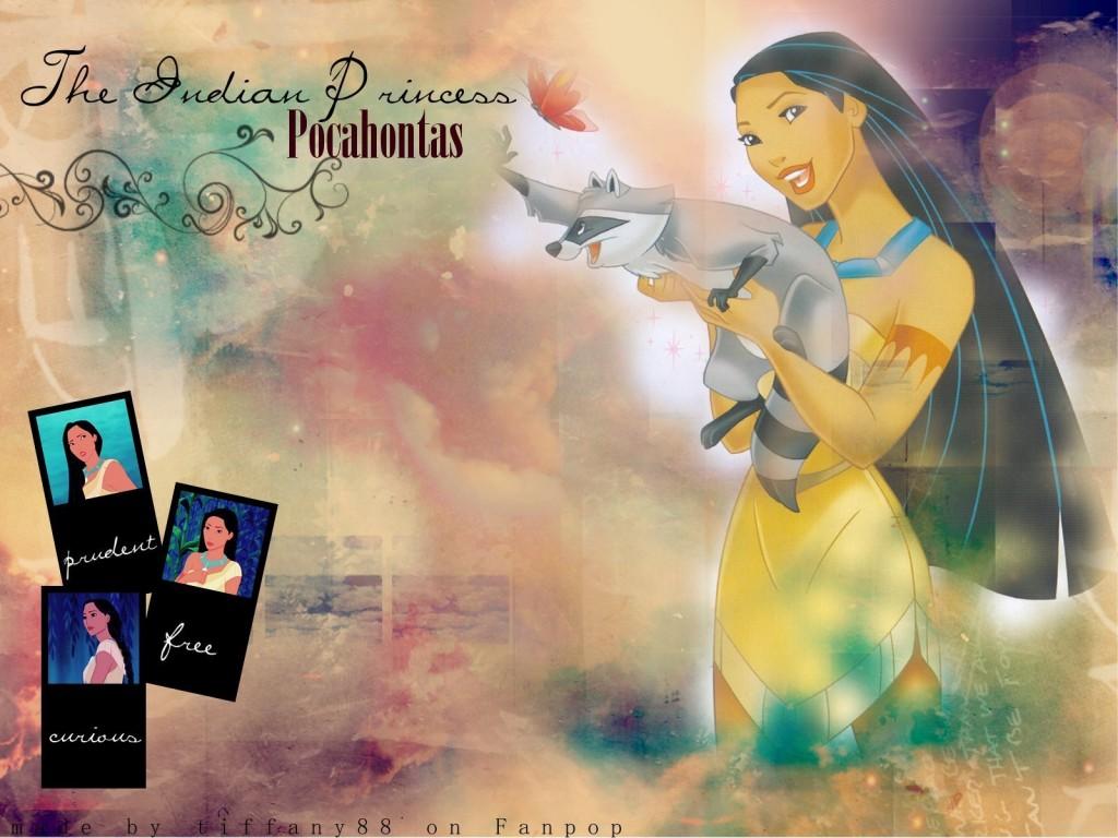 Papel de parede Princesas – Pocahontas para download gratuito. Use no computador pc, mac, macbook, celular, smartphone, iPhone, onde quiser!