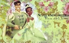 Papel de parede Princesas – Tiana e Nareen