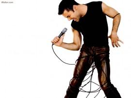 Papel de parede Ricky Martin – Microfone