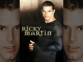 Papel de parede Ricky Martin – Homem Sexy