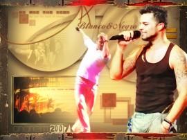 Papel de parede Ricky Martin – Cantando