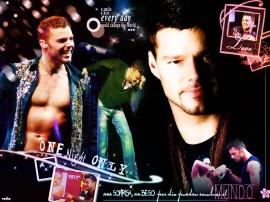 Papel de parede Ricky Martin – Ícone Pop