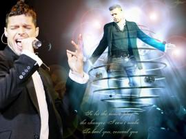 Papel de parede Ricky Martin – Cantor