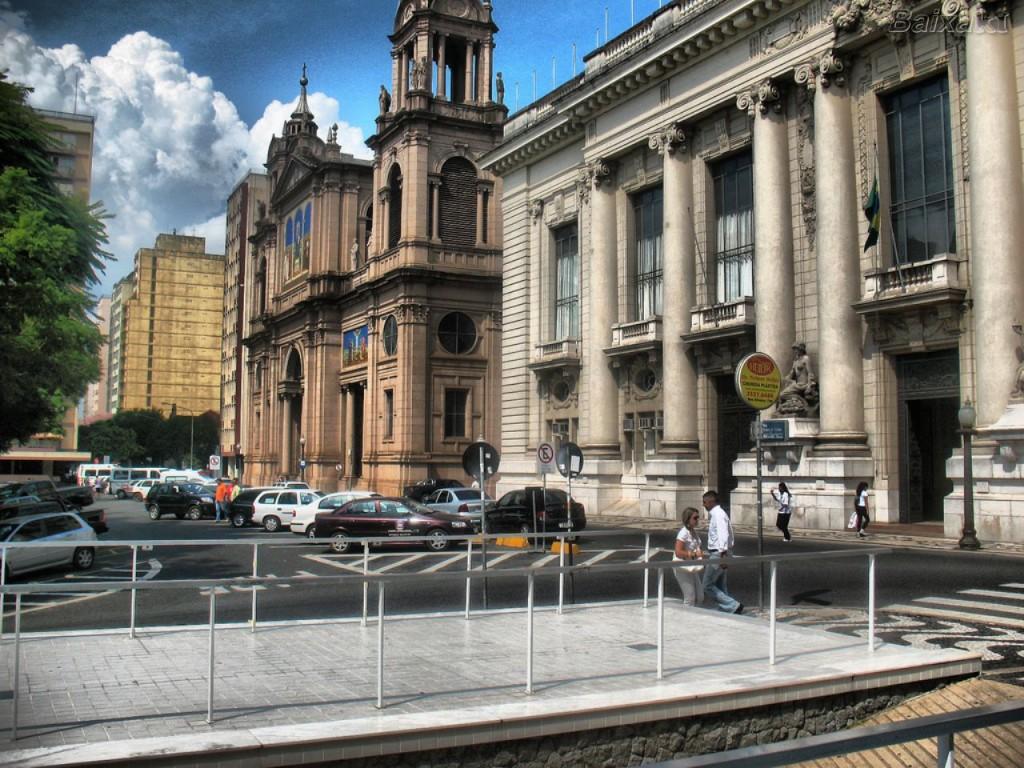 Papel de parede Catedral Metropolitana de Porto Alegre para download gratuito. Use no computador pc, mac, macbook, celular, smartphone, iPhone, onde quiser!