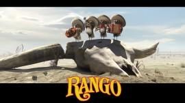 Papel de parede Pássaros do Filme Rango
