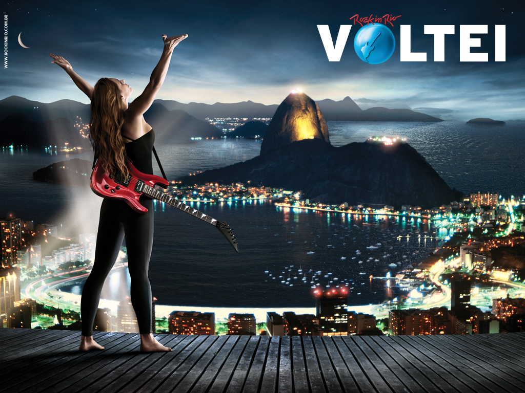 Papel de parede Rock In Rio – Voltei para download gratuito. Use no computador pc, mac, macbook, celular, smartphone, iPhone, onde quiser!