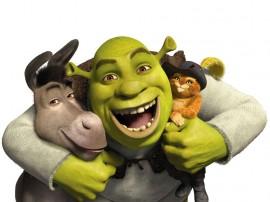 Papel de parede Shrek e Família