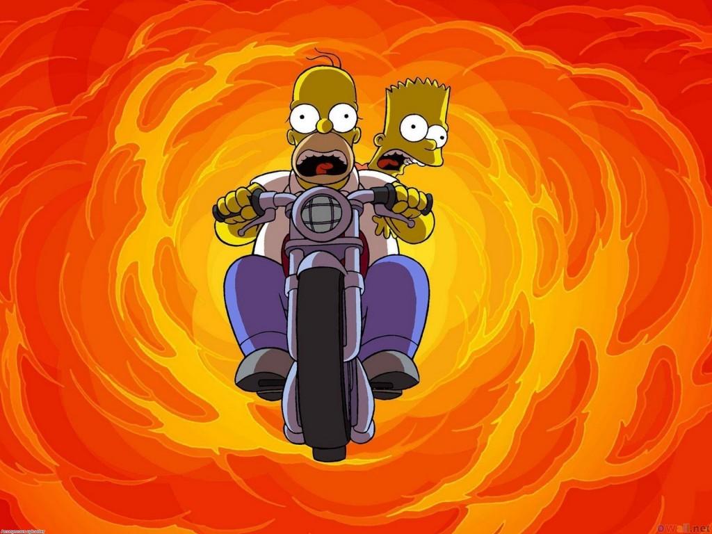 Papel de parede Os Simpsons – Explosão para download gratuito. Use no computador pc, mac, macbook, celular, smartphone, iPhone, onde quiser!