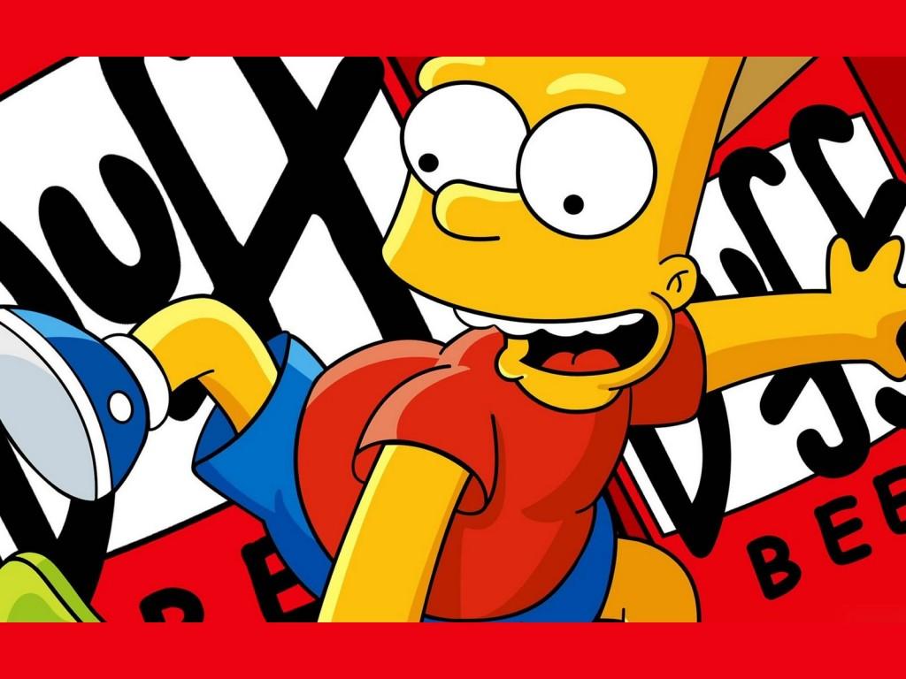 Papel de parede Os Simpsons – Bart Skatista para download gratuito. Use no computador pc, mac, macbook, celular, smartphone, iPhone, onde quiser!