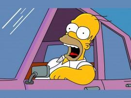 Papel de parede Os Simpsons – Susto